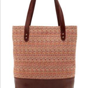 Lauren Merkin Olivia Baja Tote Handbag Bag